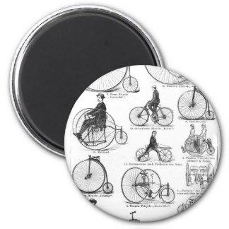 El alto Biking del ciclo del comino del penique Imán Redondo 5 Cm