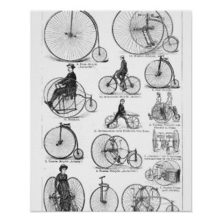 El alto Biking del ciclo del comino del penique Impresiones