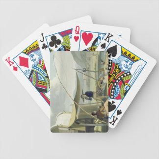El alto de la familia de un patán, platea 17 del ' barajas de cartas