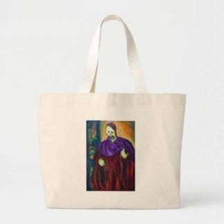 El alto sacerdote (retrato del expresionismo) bolsas de mano