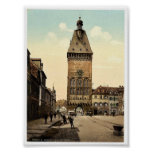 El Altportel, Speyer, el Rin, Alemania Pho raro Posters