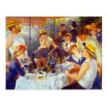 El alumerzo de Pedro Renoir Tarjetas Postales