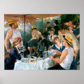 El alumerzo de Renoir del fiesta del canotaje (188 Posters