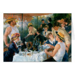 El alumerzo de Renoir del fiesta del canotaje (188 Tarjetón
