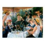 El alumerzo de Renoir del fiesta del canotaje (188 Postales