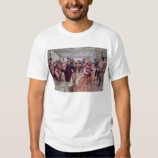 El alumerzo del artista escandinavo camisas