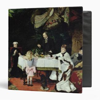 """El alumerzo en el invernadero, 1877 carpeta 1 1/2"""""""