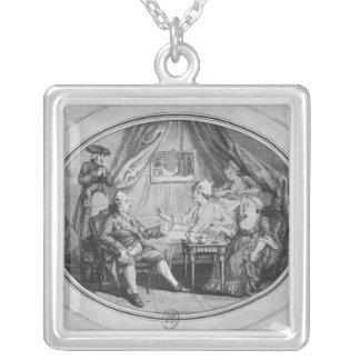 El alumerzo en Ferney, el 4 de julio de 1775 Joyerías