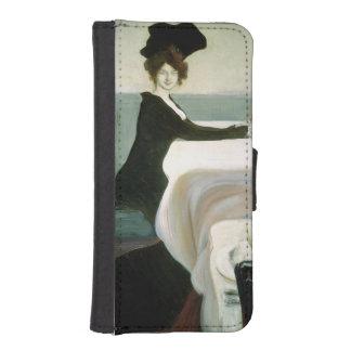 El alumerzo fundas tipo billetera para iPhone 5