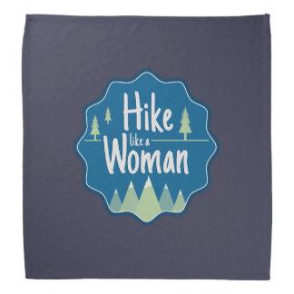 El alza tiene gusto de pañuelo de una mujer bandanas