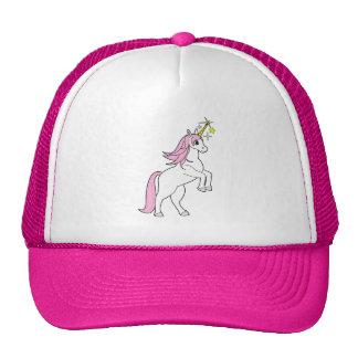 El alzarse del unicornio: Melena y cola rosadas Gorro De Camionero