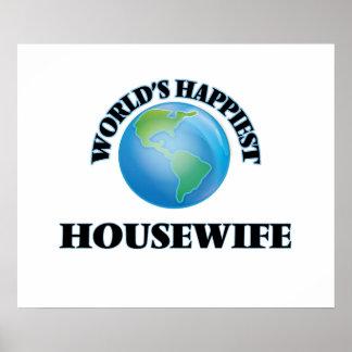 El ama de casa más feliz del mundo póster