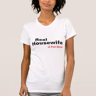 El ama de casa REAL de Fort Drum, camiseta de NY Playeras