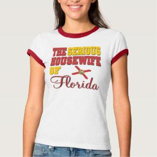 El ama de casa seria de la Florida Camisas