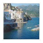 El Amalfi Vista Azulejo Cuadrado Pequeño
