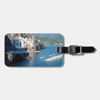 El Amalfi Vista Etiqueta De Equipaje