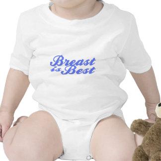 ¡(El amamantamiento es el mejor para el bebé! Trajes De Bebé