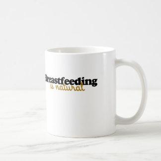El amamantamiento es natural taza