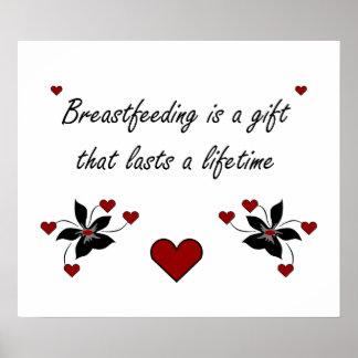 El amamantamiento es un regalo impresiones