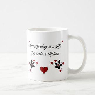 El amamantamiento es un regalo taza clásica