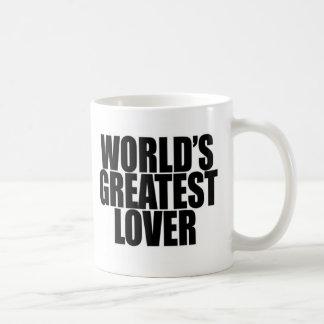 El amante más grande del mundo taza básica blanca