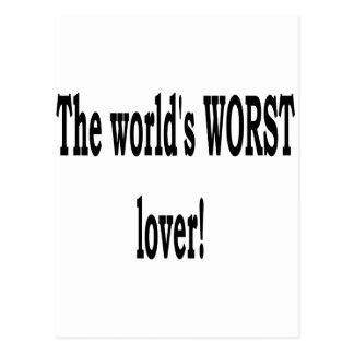 El amante peor postal