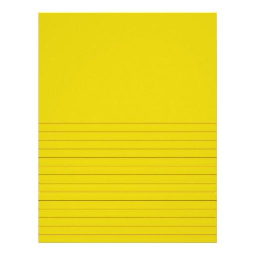 El amarillo 0559790 alineado escribe y dibuja membrete personalizado