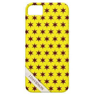 El amarillo brillante y el chocolate protagoniza iPhone 5 funda