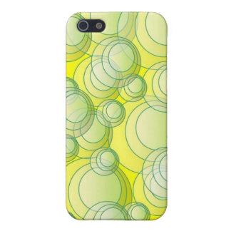 El amarillo burbujea caso de IPhone iPhone 5 Carcasas