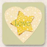 El amarillo caprichoso protagoniza amor posavasos