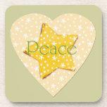 El amarillo caprichoso protagoniza paz posavaso