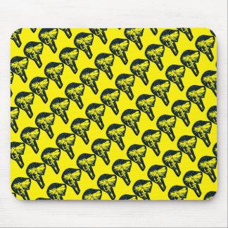"""El """"amarillo de la mosca seca tejó"""" la mosca mouse pad"""