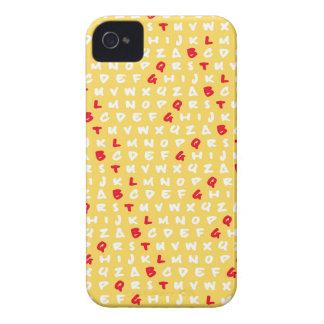 El amarillo del ABC Case-Mate iPhone 4 Carcasa