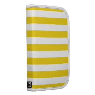 El amarillo del ánimo de limón raya el modelo organizador