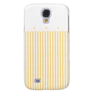 El amarillo enciende la caja de Samsung Funda Para Galaxy S4