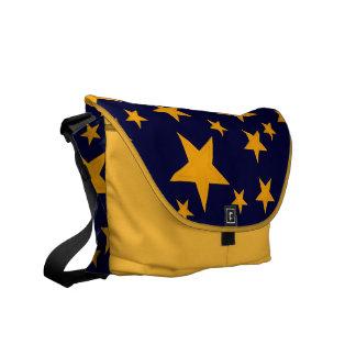 El amarillo intrépido protagoniza la bolsa de mens bolsas de mensajeria