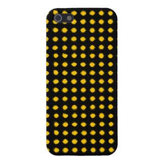 El amarillo llevó la luz iPhone 5 cárcasa