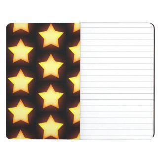 El amarillo protagoniza brillante y brillar cuaderno