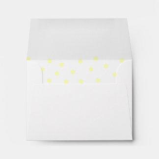 El amarillo protagoniza el sobre