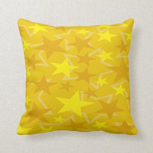 """El amarillo protagoniza la almohada de tiro 20"""" x cojín decorativo"""