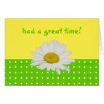 El amarillo verde puntea la tarjeta de la hospital