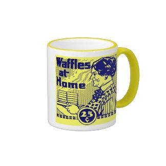 "El amarillo ""WAFFLES"" taza de café"