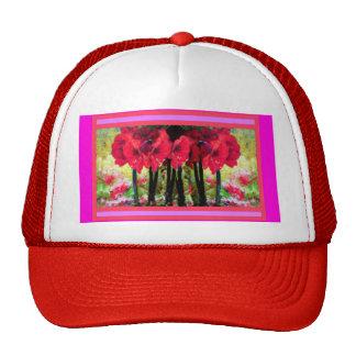 El Amaryllis rojo florece los regalos por Sharles Gorras De Camionero