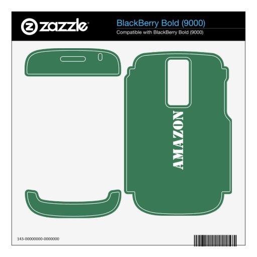 El Amazonas BlackBerry Calcomanía