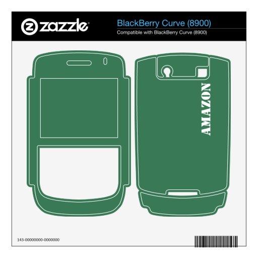 El Amazonas BlackBerry Skin