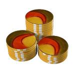 El ámbar agita el chipset del póker del ~ juego de fichas de póquer