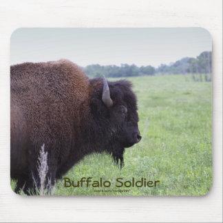 El americano aclara el bisonte Mousepad del búfalo Alfombrillas De Ratón