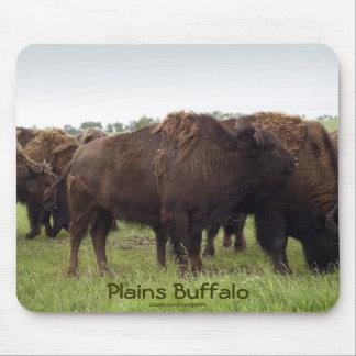 El americano aclara el bisonte Mousepad del búfalo Tapete De Ratón
