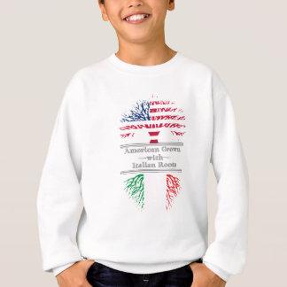 El americano crecido con el italiano arraiga el sudadera