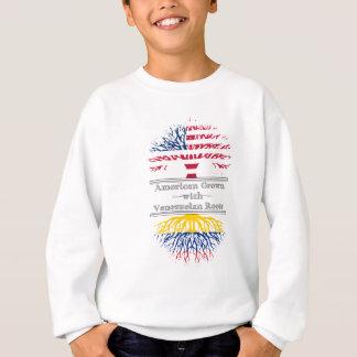 El americano crecido con el venezolano arraiga el sudadera